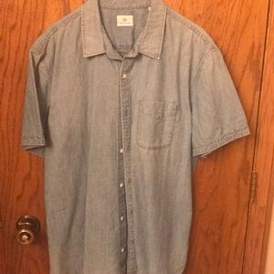 Men's Chambray Button up